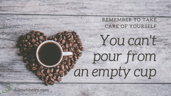 quote you can't pour from an empty cup