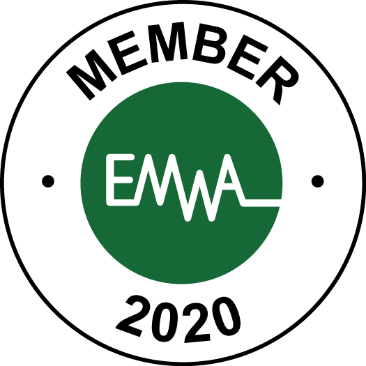 EMWA Member logo 2020 badge