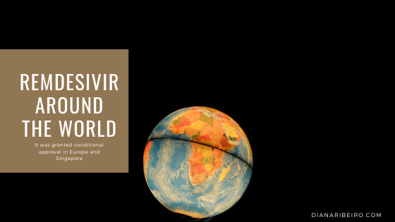 remdesivir around the world